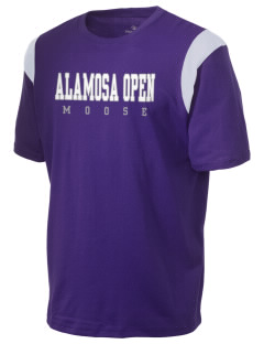 Alamosa Open High School Moose Holloway Men's Rush T-Shirt