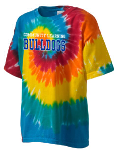 Community Learning Center Bulldogs Kid's Tie-Dye T-Shirt