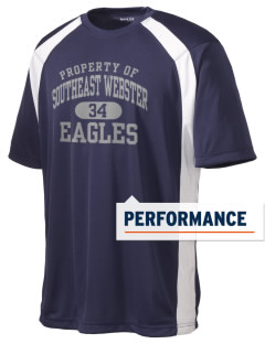 Southeast Webster Middle School Eagles Men's Dry Zone Colorblock T-Shirt