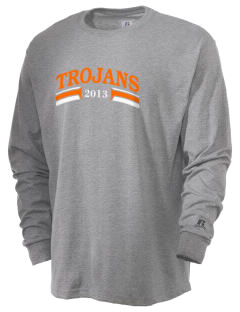 Fadden McKeown Chambliss Elementary Trojans  Russell Men's Long Sleeve T-Shirt