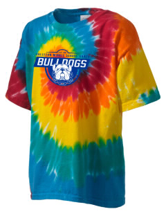 Colleton Middle School Annex Bulldogs Kid's Tie-Dye T-Shirt