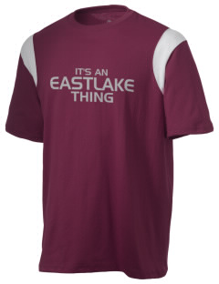 Eastlake High School Wolves Holloway Men's Rush T-Shirt