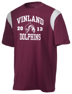 Vinland Elementary School Dolphins Holloway Men's Rush T-Shirt
