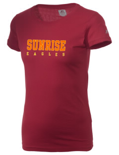 Sunrise School Eagles  Russell Women's Campus T-Shirt