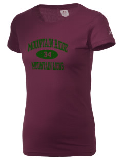 Mountain Ridge High School Mountain Lions  Russell Women's Campus T-Shirt