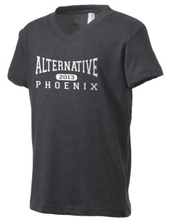 Alternative Academy Phoenix Kid's V-Neck Jersey T-Shirt