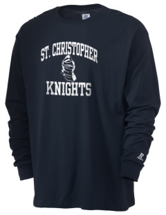Saint Christopher Academy Knights  Russell Men's Long Sleeve T-Shirt