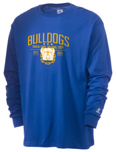 Franklin County Vocational Center Bulldogs  Russell Men's Long Sleeve T-Shirt