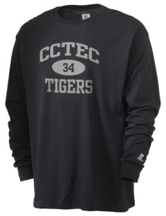 Cumberland County Technical Education Center Tigers  Russell Men's Long Sleeve T-Shirt