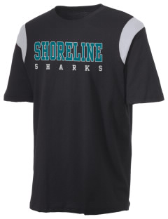 Shoreline Middle School Sharks Holloway Men's Rush T-Shirt