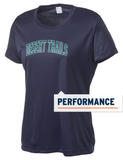 Desert Trails Elementary School Eagles Women's Competitor Performance T-Shirt
