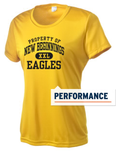 New Beginnings School Eagles Women's Competitor Performance T-Shirt