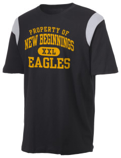 New Beginnings School Eagles Holloway Men's Rush T-Shirt