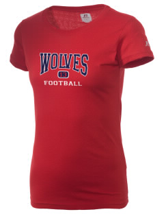 West Black Hills High School Wolves  Russell Women's Campus T-Shirt