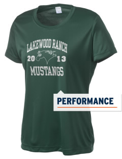Lakewood Ranch High School Mustangs Women's Competitor Performance T-Shirt