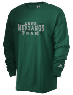 Lakewood Ranch High School Mustangs  Russell Men's Long Sleeve T-Shirt