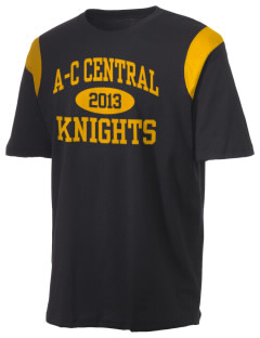 A-C Central High School Knights Holloway Men's Rush T-Shirt