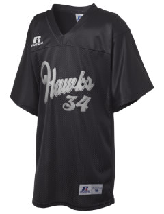 Hebron High School Hawks Russell Kid's Replica Football Jersey