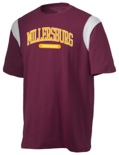 Millersburg Area High School Indians Holloway Men's Rush T-Shirt