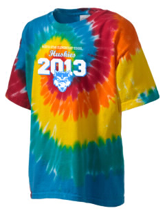 North Star Elementary School Huskies Kid's Tie-Dye T-Shirt