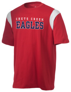 Chets Creek Elementary School Eagles Holloway Men's Rush T-Shirt