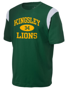 Kingsley Elementary School Lions Holloway Men's Rush T-Shirt