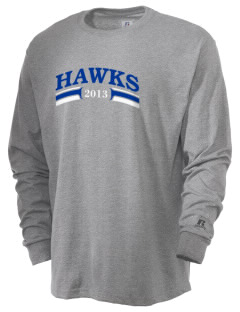 Valley Of Enchantment Elementary School Hawks  Russell Men's Long Sleeve T-Shirt