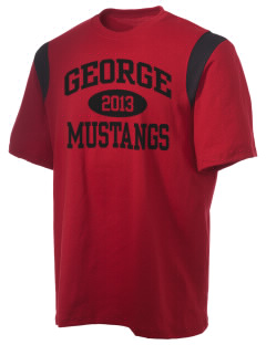 George Community School Mustangs Holloway Men's Rush T-Shirt
