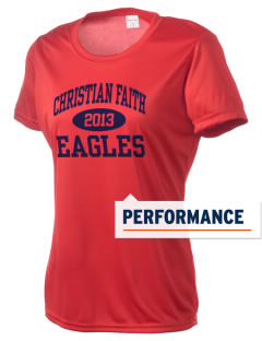 Christian Faith School Eagles Women's Competitor Performance T-Shirt