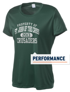 Saint John Of The Cross School Crusaders Women's Competitor Performance T-Shirt
