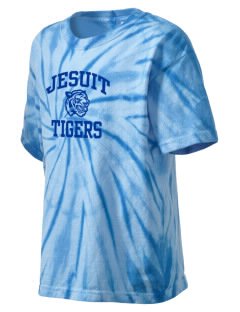 Jesuit High School Tigers Kid's Tie-Dye T-Shirt