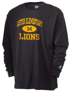 Lister Elementary Magnet School Lions  Russell Men's Long Sleeve T-Shirt