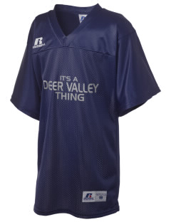 Deer Valley High School Wolverines Russell Kid's Replica Football Jersey