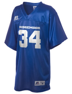 Ridgemoor Elementary School Roadrunners Russell Kid's Replica Football Jersey