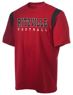 Ritzville High School Broncos Holloway Men's Rush T-Shirt