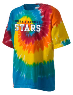 Susan B Anthony Elementary School Stars Kid's Tie-Dye T-Shirt