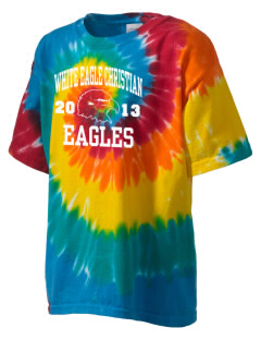 White Eagle Christian Academy Eagles Kid's Tie-Dye T-Shirt