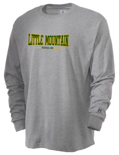 Little Mountain Elementary School Mountain Lions  Russell Men's Long Sleeve T-Shirt