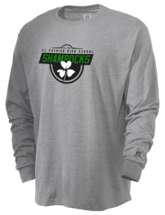 Saint Patrick High School Shamrocks  Russell Men's Long Sleeve T-Shirt