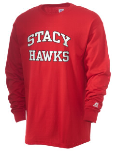 Stacy Middle School Hawks  Russell Men's Long Sleeve T-Shirt