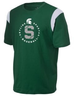 Skyline High School Spartans Holloway Men's Rush T-Shirt