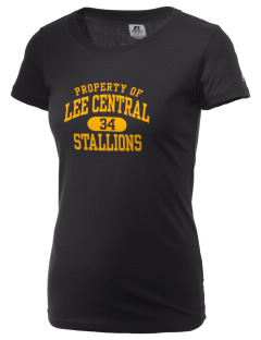 Lee Central High School Stallions  Russell Women's Campus T-Shirt