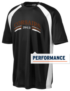 Carmel High School Corsairs Men's Dry Zone Colorblock T-Shirt