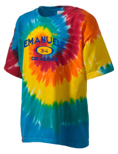 Emanuele Elementary School Dragons Kid's Tie-Dye T-Shirt
