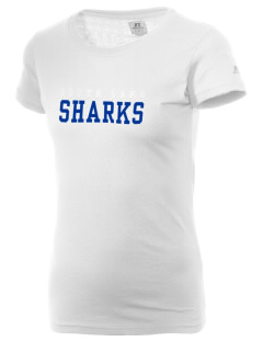 South Lake High School Sharks  Russell Women's Campus T-Shirt