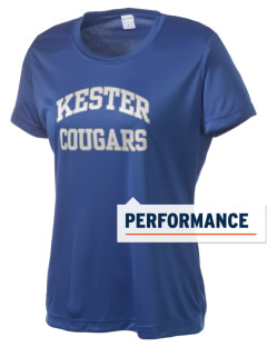 Kester School Cougars Women's Competitor Performance T-Shirt