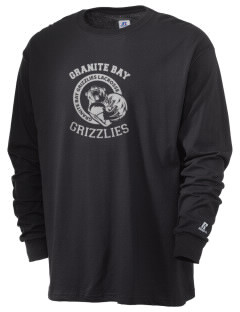 Granite Bay High School Grizzlies  Russell Men's Long Sleeve T-Shirt