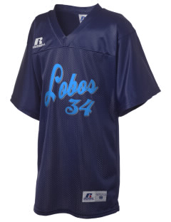Lehman High School Lobos Russell Kid's Replica Football Jersey