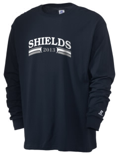 Midway Christian School Shields  Russell Men's Long Sleeve T-Shirt