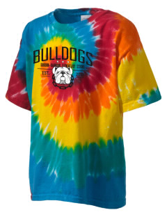 Gordon-Barbour Elementary School Bulldogs Kid's Tie-Dye T-Shirt